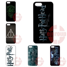 For Apple iPhone 4 4S 5 5C SE 6 6S 7 7S Plus 4.7 5.5 iPod Touch 4 5 6 Accessories Hard Skin Skull Harry Potter Logo