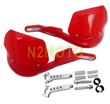 "Red Handguards Fat Bars Standard Hand Guards 22mm/28mm 7/8""/1-1/8"" Universal for Honda Sport Bike(China)"