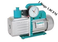 Single Stage 1.8CFM 1/4HP Portable Vacuum Pump for HVAC Tool AC R410a R134+ Precision Guage