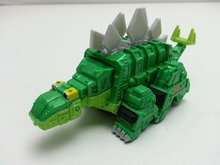 MT Dremworks Dinotrux Green Garby Half truck Dragon Diecast Metal Loose New In Stock & Free Shipping