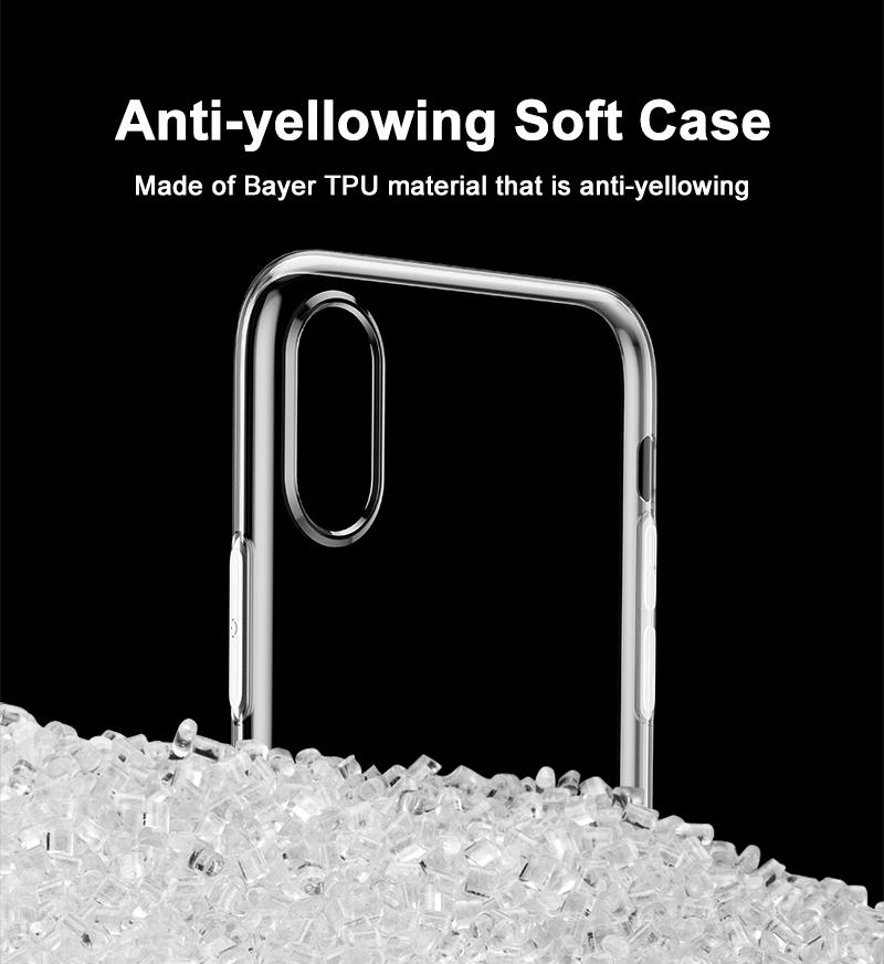 Baseus Ultra-Thin Transparent iPhone-X Case