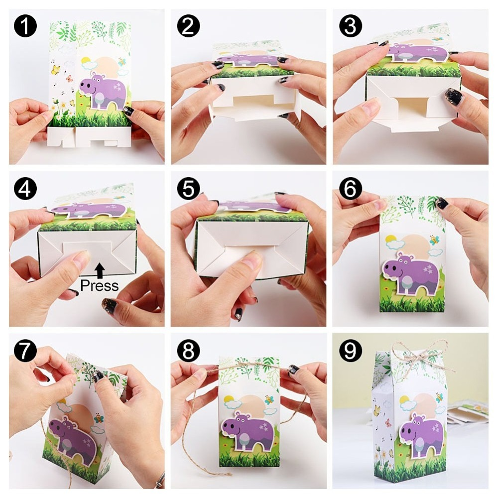 Zoo Animal favor boxes (3)