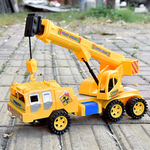 Simulation Crane Construction Engineering Vehicles Creative Large Inertia Car Model(China)