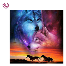 ANGEL'S HAND Diamond Embroidery full canvas painting 5d diy diamond painting diamond pattern Wolf