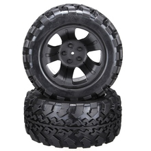2pcs FS Racing 1/10 RC Car Monster Truck Tire 518603B Free Shipping(China)