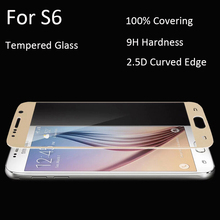 HP02 Full covering Tempered Glass Screen Protector Screen Printing Film For Samsung Galaxy S6/S6 Edge/S6 edge plus/A3 A5 A7 2016