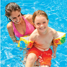 Swim Arm Ring Inflatable Bands Float Sleeves Water Wings Swimming Arm Inflatable Pool Floats Toys Baby Arm Float Swim Training