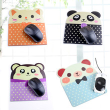 Hot Cartoon Animal Series Cat Bear Pig Panda Style High Quality Rubber Mouse Pad Comfort Gaming Mat Mice Pad Computer PC Laptop