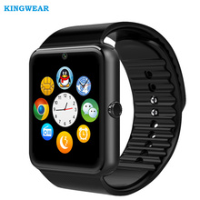 KINGWEAR 2G Wifi Android Smart Watch GT08 Plus support Google Play Download APP Smart Clock with Whatsapp and Facebook Reminder