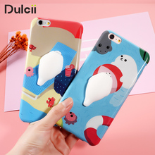 for iphone 6s case 7 plus Squishy Cute Kneading rubber Soft Case 3D Silicone Case Lovely Elastic Kneaded Cortex Cover Back Shell