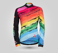 New Women's Cycling Jersey Bike Bicycle Comfortable Long Sleeve Outdoor Shirts mountain bike clothing cloth apparel tops