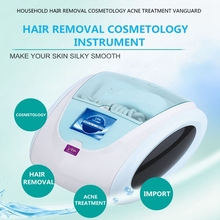 2017 epilator free shipping Household Hair Removal Instrument Laser Painless Permanent Body Photon Machine  Acne Treatment