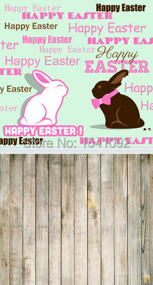 1.5X3M Customize vinyl photography backdrop newborn easter wood computer print  background for photo studio F044<br><br>Aliexpress