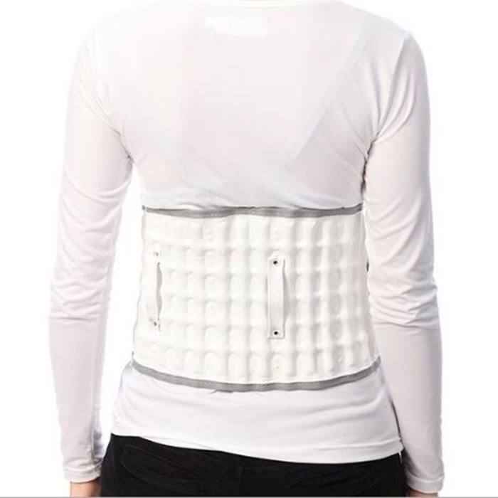 2017 New Arrival Body Massage Lumbar Tractor Spinal Air Traction Physio Decompression Back Belt Lumbar Pain Lower Waist Brace<br>