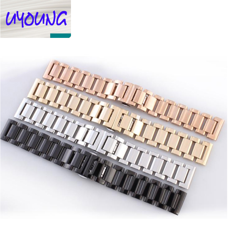 18mm 20mm 21mm 22mm Repalcement Watch Accessories New High quality Metal Watch Band Strap Bracelets<br><br>Aliexpress