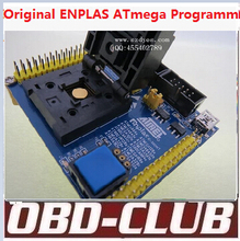 Original ENPLAS ATmega169 Programmer atmega329 Ic tester atmega Programmer atmega644 with JTAG ISP download connect Free Ship