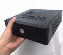 The best price! Free shipping! Mini ITX case, Mini Tower, HTPC case support standard 170*170(mm) motherboard, good quality,