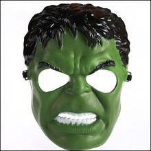 by DHL or EMS 200 pcs New Incredible Hulk Green Giant Man Cartoon Mask Halloween Masks Adult children Halloween Party Mask(China)