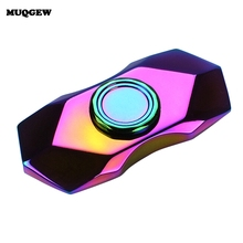 Buy 2017 High Speed Rainbow Fidget Spinner Stress Cube Metal Hand Spinner Focus Toy Autism ADHD EDC Anti Stress Toy Spinner Hand for $8.59 in AliExpress store