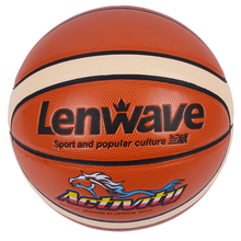 High Quality Official Size 6 Basketball Ball Women Student Teenage Outdoor Indoor Sports Training PU Basketball Balls(China)