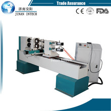 For funiture legs high speed Double axis double blades automatic wood lathe machine(China)