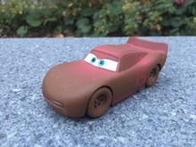 Original Pixar Cars Movie 1:43 Chester Whipplefilter Metal Diecast Toy Cars New Loose