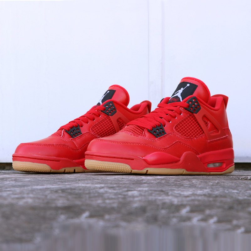High-Quality-Jordan-Retro-Basketball-shoes-4-Singles-Day-Red-Sneaker-Men-Athletic-Outdoor-Sport-Shoes (2)