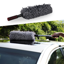 Car Microfiber Duster Cleaning Cloth car Care Clean Brush Dusting Tool Microfibre Wax Polishing Detailing Towels Washing Cloths(China)