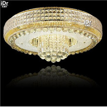 round led crystal lamps bedroom modern living room dining S Kim Lighting Factory Ceiling Lights Upscale atmosphere Dia800mm(China)
