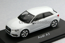 White Schuco 1:43 Car Model Audi A3 2012 SUV Diecast Model Car Classic Toys Car Replica