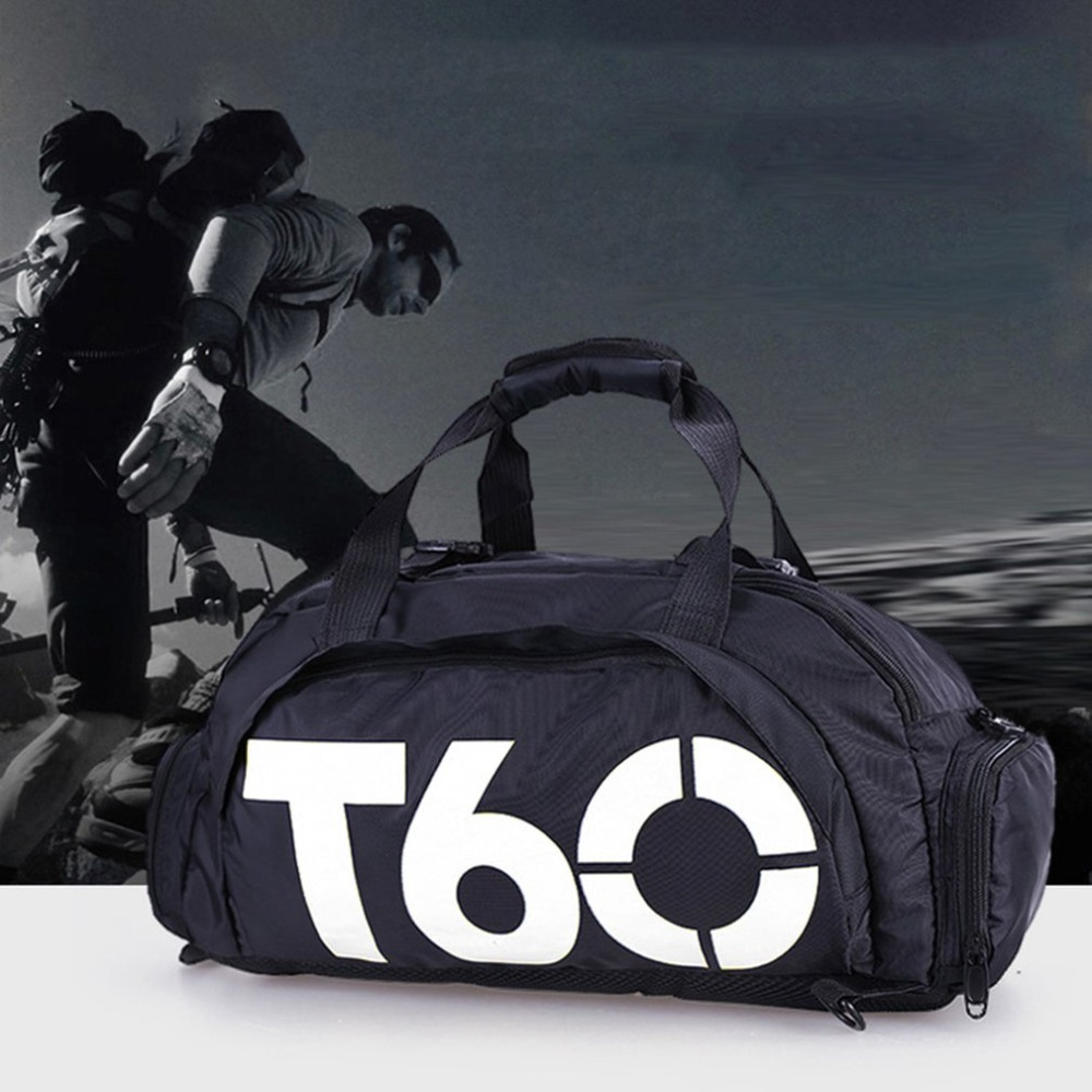2019 Outdoor Waterproof Gym Sports Bag Fitness Backpack Training ... 436a3dcad19f5
