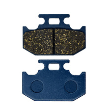 For KAWASAKI KDX250 SR KDX 250 F1 1991 KX250 1989-1994 KLX250 R 93-97 KLX250 94-97 KX500 E1-E7 89-95 Motorcycle Brake Pads Rear