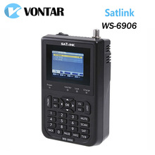 "[Genuine] Satlink WS-6906 3.5"" DVB-S FTA digital satellite meter satellite finder ws 6906 satlink ws6906 free shipping Yojia(China)"
