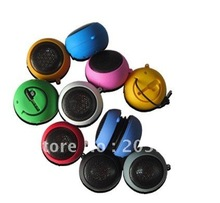 50pcs/lot Mini portable Hamburger Music Speaker for PC for MP3 MP4 player for mobile phone Free Shipping