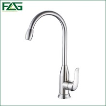 FLG Factory Direct Sale Kitchen Faucet 360 Degree Rotating 304 Stainless Steel Faucet Kitchen Taps Cold And Hot Muur Kraan CS001
