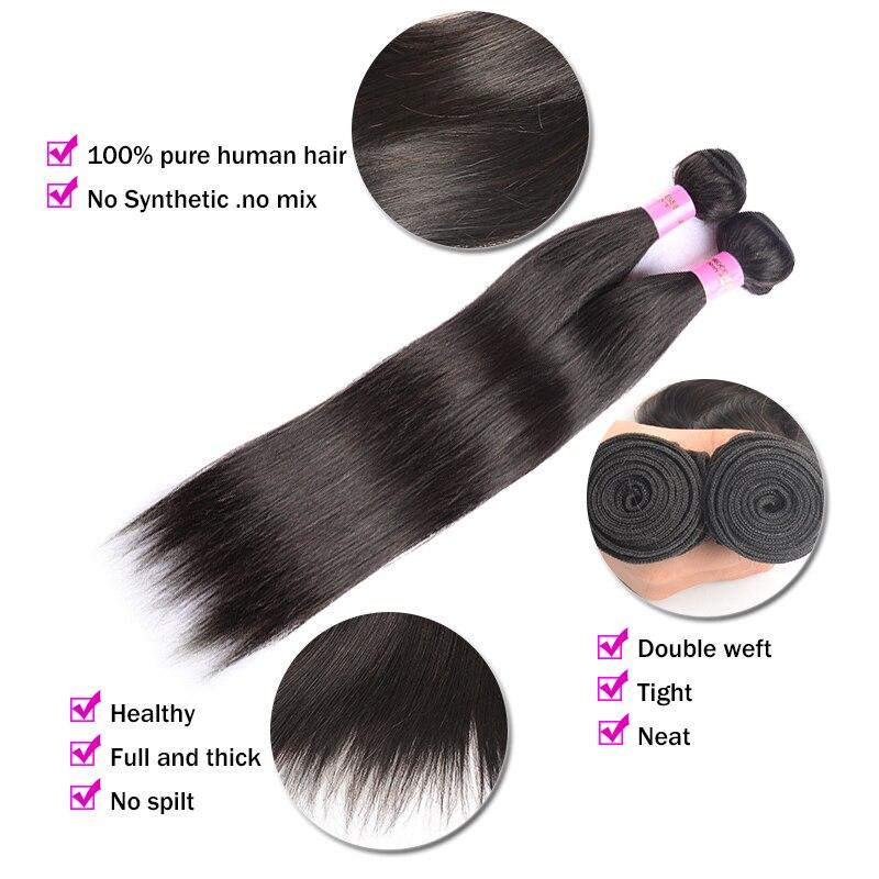 7A Smoothing Hair Indian Virgin Hair Straight 4 Bundles/LotVirgin Unprocessed Human Hair India Straight Virgin Hair Extensions<br><br>Aliexpress