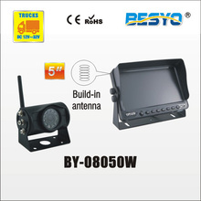 Heavy vehicle (trucks ,bus ,vans) reversing   rearview wireless  monitor with camera system BY-08050W