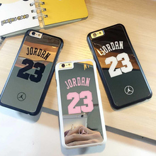 Fundas Coque for iPhone 6 6 Plus SE 5S 5 Case Michael Jordan 23 Funda Carcasa Capa Caso PC Hard Chrome Mirror for iPhone