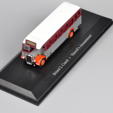1/87  Tram Model Bristol LCoach'Hurrell's Amusements' Diecast Truck Bus Model For Kids Toys brinquedos Collections Gifts E