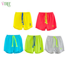 Fashion boys shorts summer cotton boys girls shorts candy color shorts for kids children beach shorts clothes baby clothes