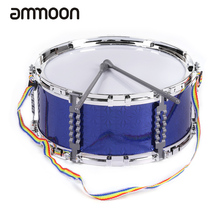 Colorful Jazz Snare Drum Percussion Instrument with Drum Sticks Strap Musical Toy for Children Kids(China)