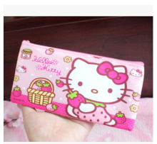 Cute Hello Kitty Pencil Case kawaii Pencil Bag Pencil Cases & Bags School supplies(China)