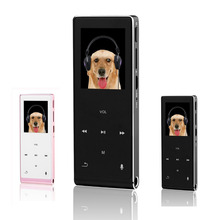 Touch Screen Bluetooth MP3 HIFI Lossless Music Player Metal MP4 Players 8GB Support TF Card Tape Record Video Mini Walkman