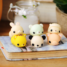Anti Stress Cute Animal Tiger Panda Bear Squeeze Relief Healing Autism ADHD Toy Collection Gadgets Squeeze Practical Jokes