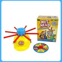 Wet Head Game Wet Hat water challenge Jokes products Funny Toys roulette game kid toys zg020