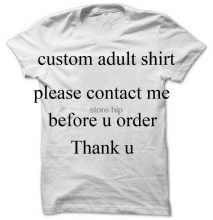 Custom shirt ,please contact us before u place order this is the custom shirt link .Thank u for ur understanding(China)