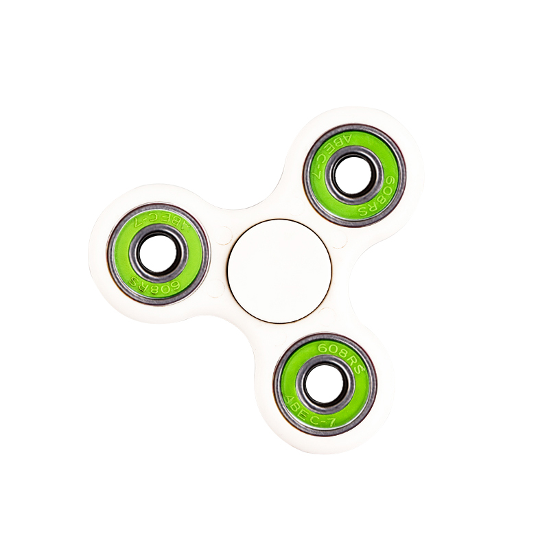 Fingers rotate toy metal triangle fingertips spinning children's adult release pressure fingertips gyro toys Fidget Hand Spinner