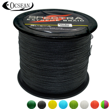 SPECTRA 1000M PE Braided Fishing Line 4 Strands Wire Super Strong Japan Multifilament Braided Lines Carp Fishing Rope 20LB-100LB