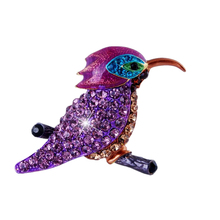 Fashion Formal Jewelry Brooch Pins Rhinestone Crystal Birds Popular Gifts women brooches wedding brooch Jewelry