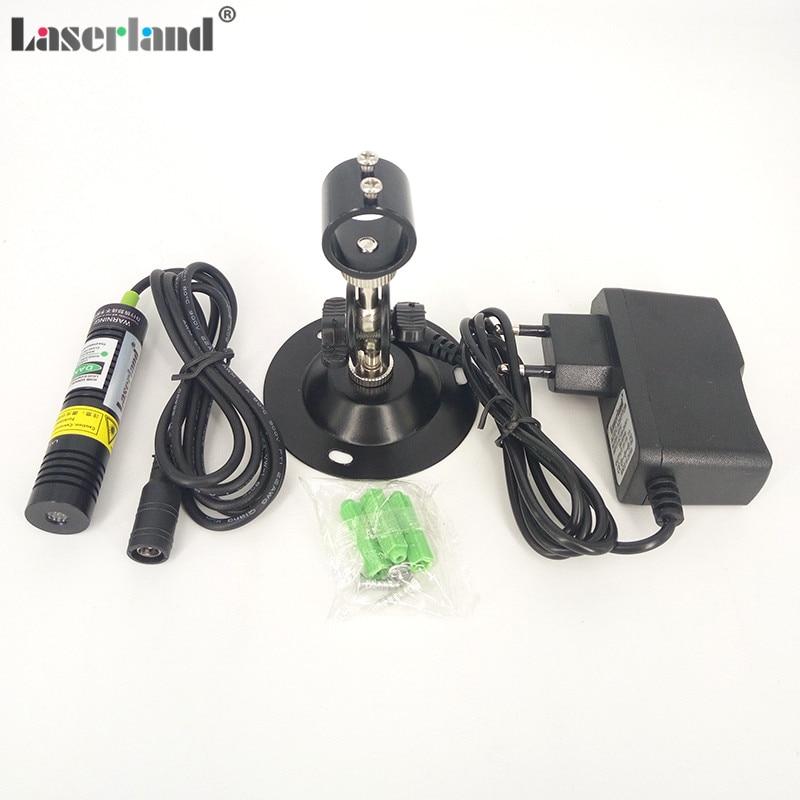 650nm 80mw Linie Laser Diode Modul zum Schneiden Positionierung w//Halter+Adapter